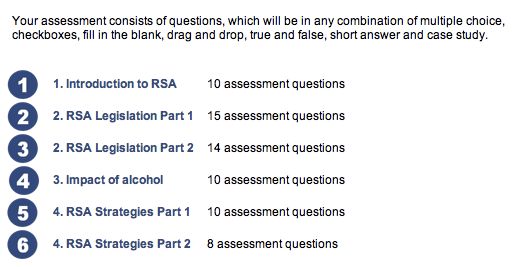 How To Pass Your RSA Course with Sample Questions and Practice Answers